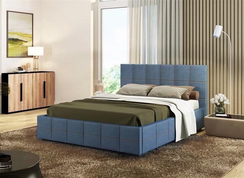 """Интерьерная кровать Румба, основание """"решетка"""" - фото 4790"""