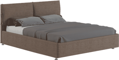 """Интерьерная кровать Карина, основание """"решетка"""""""
