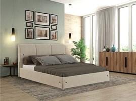 Интерьерная кровать Жардин, основание решетка